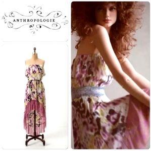 Anthro. LILKA Ruffled Dress